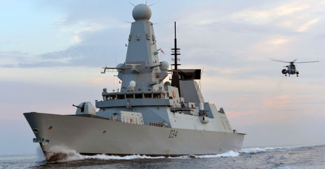 Type 45 Destroyer Royal Navy