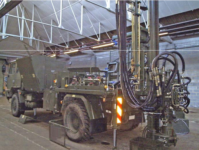 Truck Mounted Well Drill - Edeco