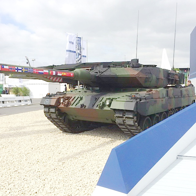 Leopard 2A7 - what is undoubtedly the best main battle tank currently in service just got better. (Why we don't replace Challenger 2 with these is beyond comprehension.)