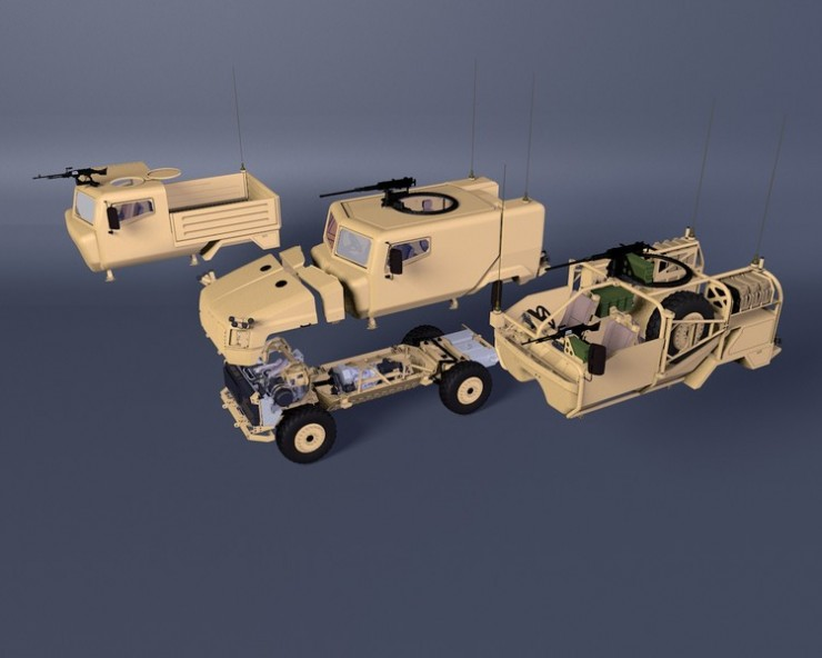 Supacat SPV400 Modules
