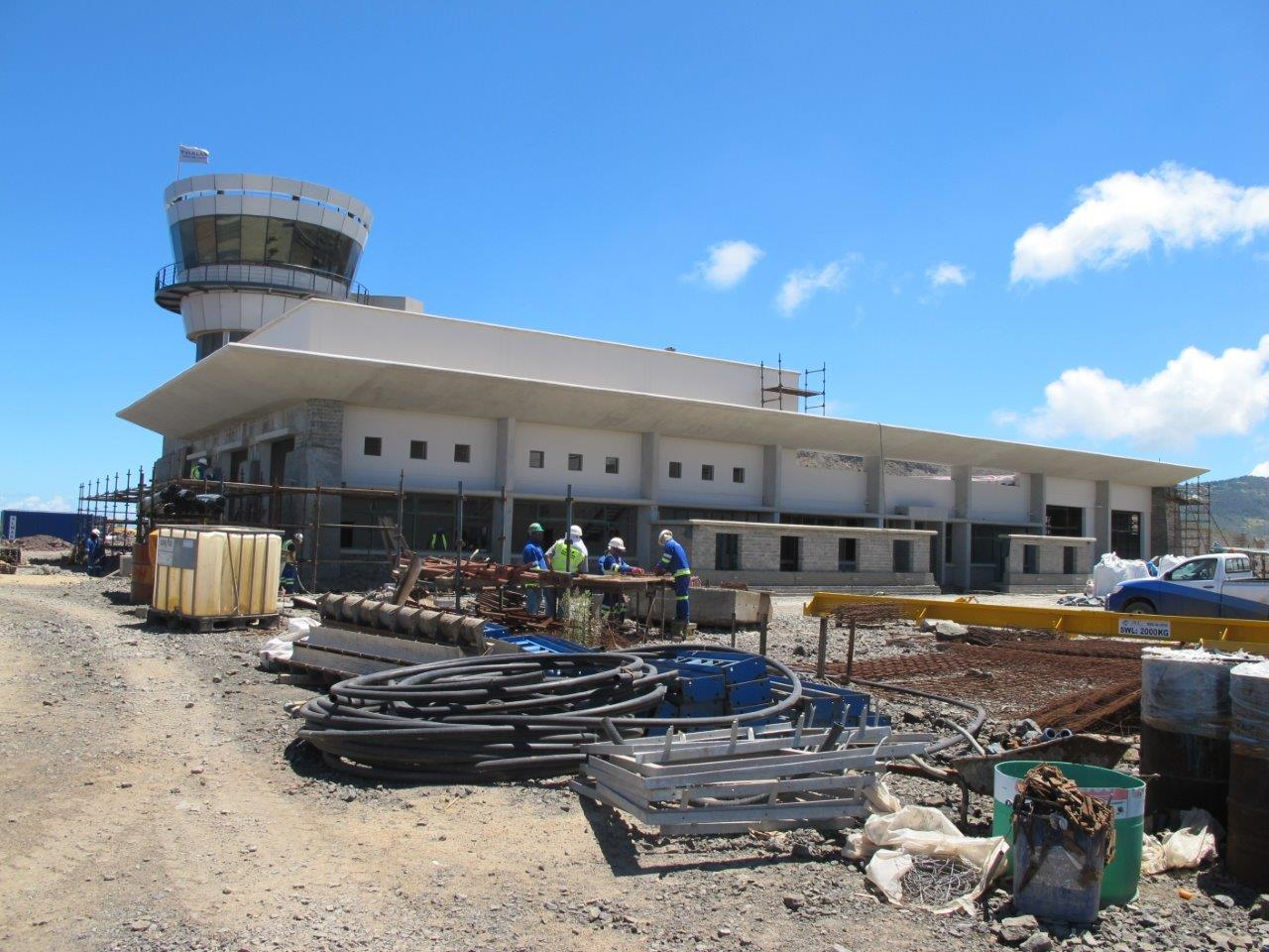 St Helena Airport update - Terminal Building 2 - Think Defence
