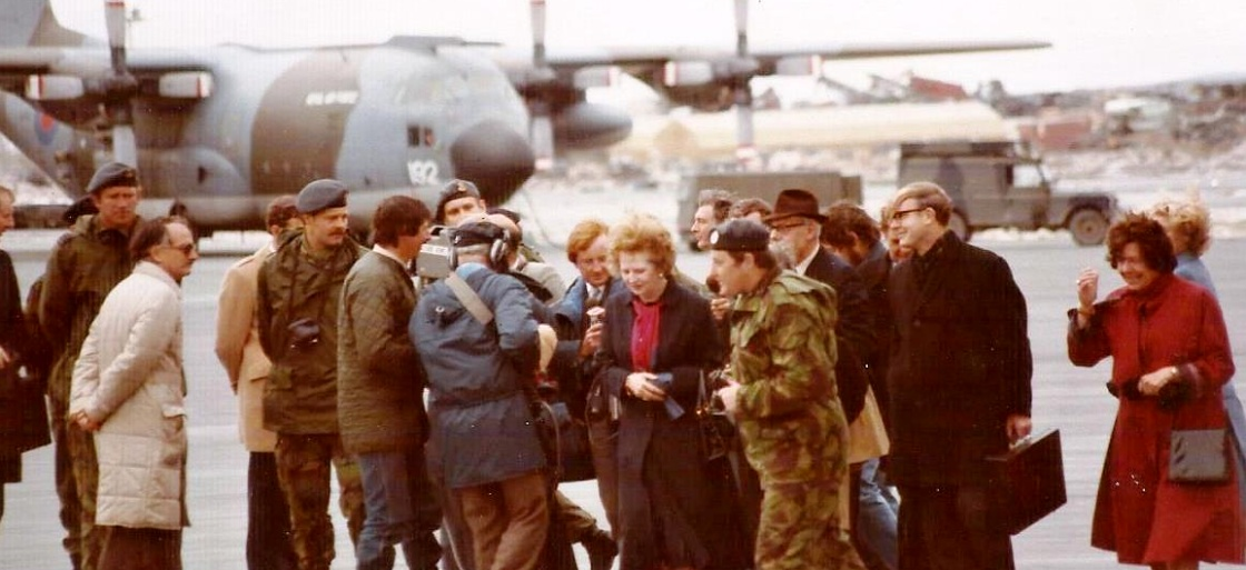 Margaret-Thatcher-visits-Port-Stanley-VIP-Container